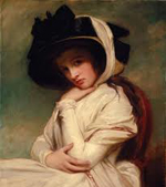Emma, Lady Hamilton by George Romney